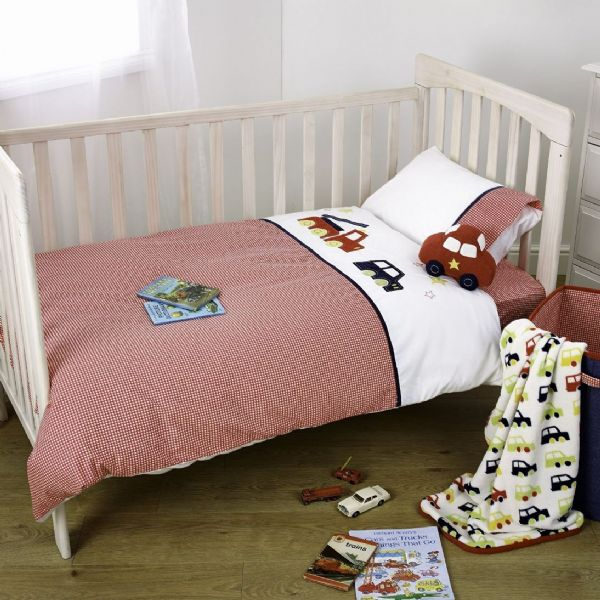 Suncrest Fetch the Engine Toddler Duvet Cover & Pillow Case